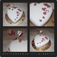 Valentine cake by elainewhy