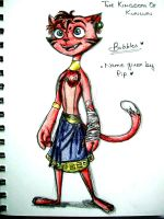 Character concept: Bubbles (Marquis cat-sona) by Shenny-Shendelier