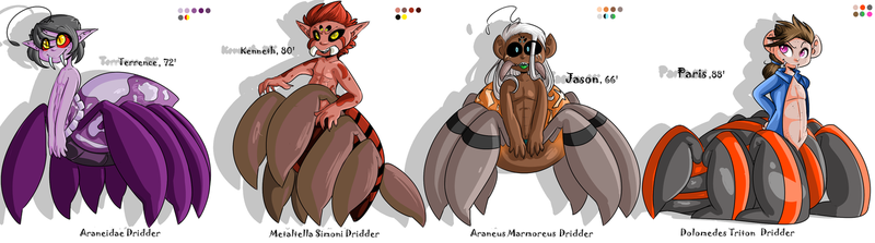 Dridder Species References by Nicole08196