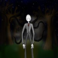 Slender Painting by HorrorshowMania