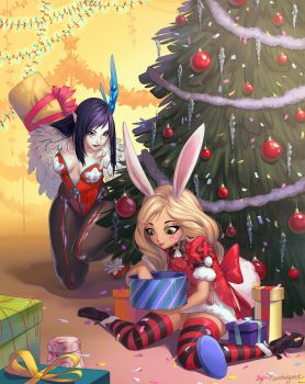 New Year in Blade and Soul by fantazyme