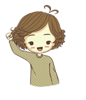 Cartoon Harry Styles PNG by YazSexyDilemma