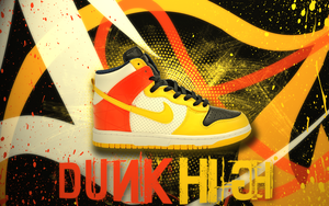 Nike Dunk High by lucasitodesign
