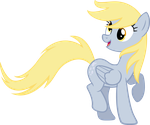Windy Derpy by MoongazePonies