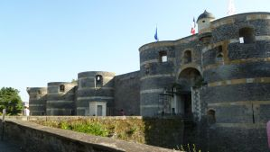 Angers castle by 4ajka