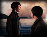[Sherlock x John] sea breeze by xXMarilliaXx