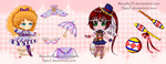[CLOSED] Circus Collab Adopts: Dual Auction (0/2) by OginZ
