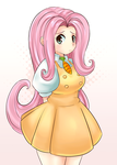 Fluttershy by CheloStracks