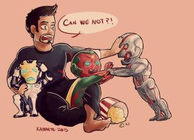 Spoilt [Avengers Age of Ultron] by Kama-ItaeteXIII
