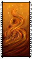 A Fire Spirit's Rising by Cerasyl