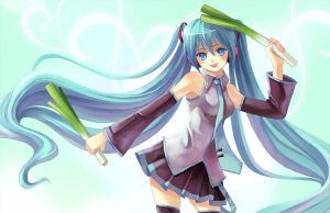 Miku by X-Chan-