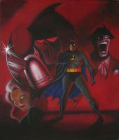 Batman : Mask of the Phantasm by markhossain