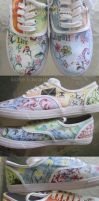 Live Laugh Love SHoes by feavre