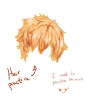 Hair practice by yui-cute