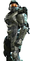 Halo 4 - Master Chief (John-117) by Lopez-The-Heavy