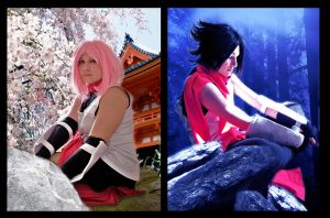SasuSaku_Day and Night by SoulOfPersephone