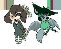 Anthro adopts by dragonsweater