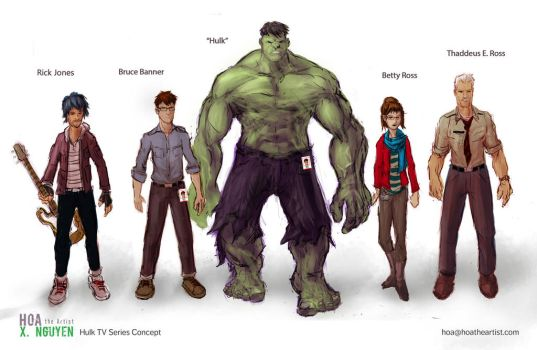 Hulk Young Adult TV Series Concept by Hoabert