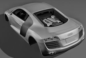 Audi R8 whip 2 by yamell