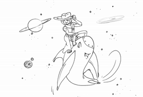 Space Cowboy :Contest Entry: by Missvirginia