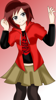 Casual Ruby by SonicHeroXD