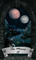 Skyrim Tarot 18 - The Moons by Whisper292