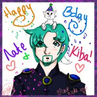 happy bday nate and kiba by rinidarklight