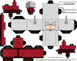 Ant-man Cubeecraft by JagaMen