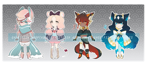 COLLABORATION AUCTION BATCH 1 [CLOSED] by ghostbae