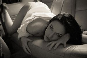 Car Nudes - Backseat No 4 by BrianMPhotography