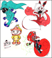 Gifts made by Markers by ScittyKitty