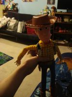 Disney Store Woody by spidyphan2