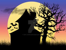 Haunted House in the Afternoon by estjohn