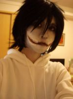 Jeff the Killer cosplay by DeluCat