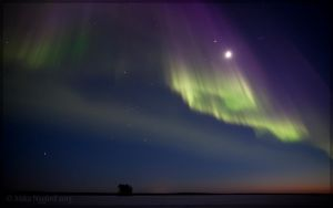 Nightfall Auroras by Starfall00
