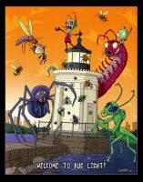 Invader Zim at Bug Light by andyjhunter