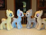 Ponies WIP by WhiteDove-Creations