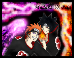 Madara VS Pein by Sapphiresenthiss