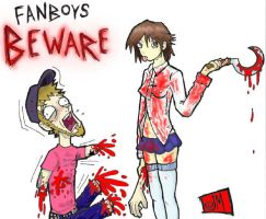 Fanboy Jeremy Beware by killowlsdead