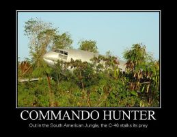 Commando Hunter Demotivational by Denodon