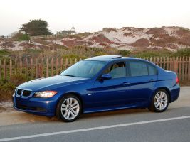 2008 BMW 328i lighthouse by Partywave