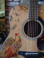 Four Elements Guitar - close up 2 by dragonlover-samantha