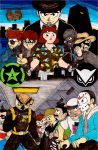 Achievement Hunter's vs Vanoss' Crew by Jacob-Cross