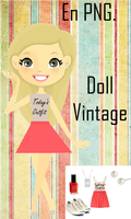 Doll Vintage En Png by dulcepanquecito