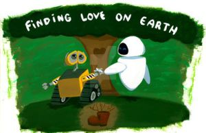 : Wall-E : Love on Earth : by g0N3Morganna