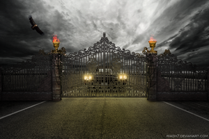 Closed Gate by riadh7