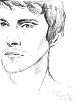 Will Graham Sketch by silver-autumn