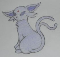 Espeon by Nostrovelle