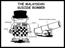 The Malaysian Suicide Bomber by vforvengeance