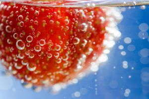 Strawberry macro by LudwigSpove